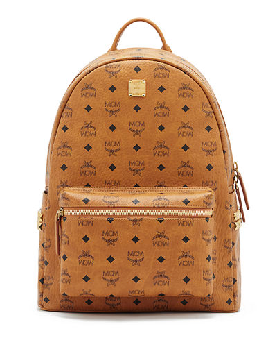 MCM Men's Stark Side Stud Medium Backpack