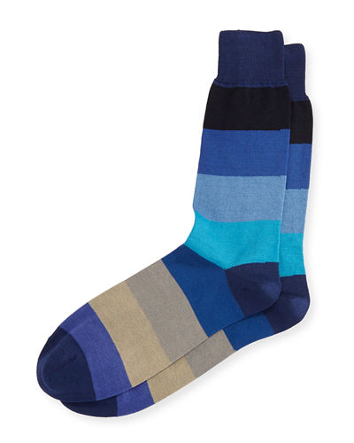Cool Colorblock Socks