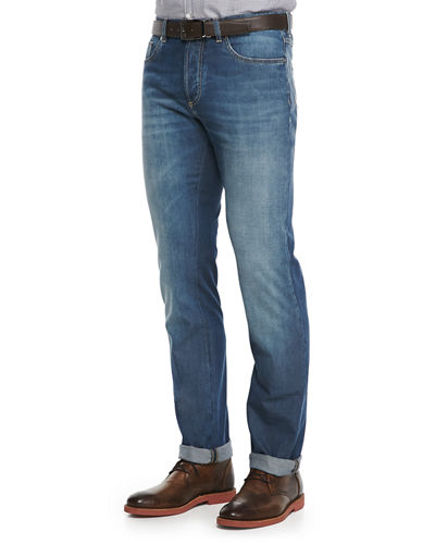 Lightweight Medium Wash Jeans
