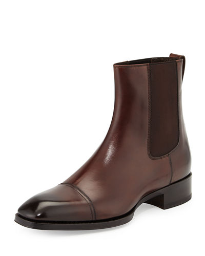 Gianni Leather Chelsea Boot