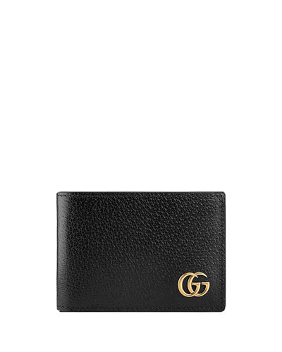 3443e635cbfa Gucci GG Marmont Leather Bi-Fold Wallet