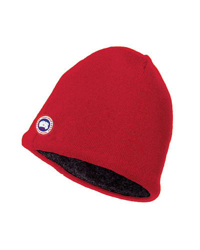 Merino Wool Fleece-Lined Beanie