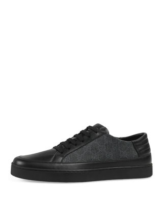 GucciCommon Supreme Low Top Leather Sneakers