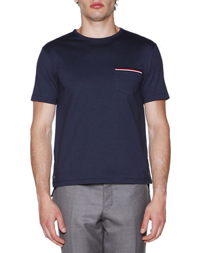 Short-Sleeve Logo Pocket T-Shirt