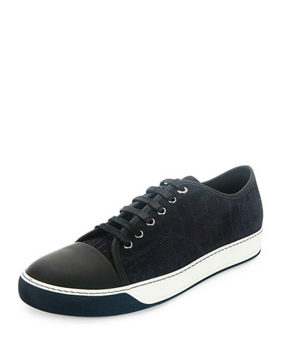 newest online Lanvin Embossed Low-Top Sneakers clearance geniue stockist amazing price exclusive online JrnMccGI