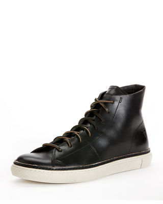 Frye Leather High-Top Sneakers