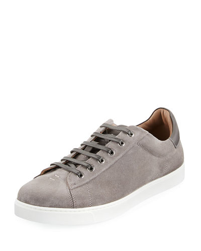 Gianvito Rossi Suede low top sneakers