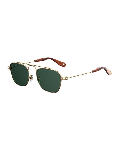 Givenchy Men's GV 7055 Small Square Sunglasses
