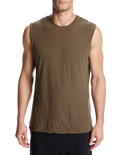Seamless Double-Layer Muscle Tank Top
