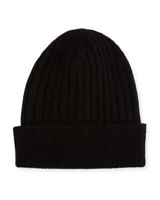 Ribbed Cashmere Beanie Tom Ford