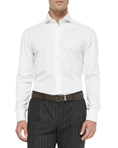 Slim-Fit Button-Down Shirt