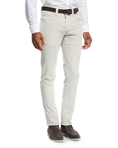 Five-Pocket Slim-Fit Pants