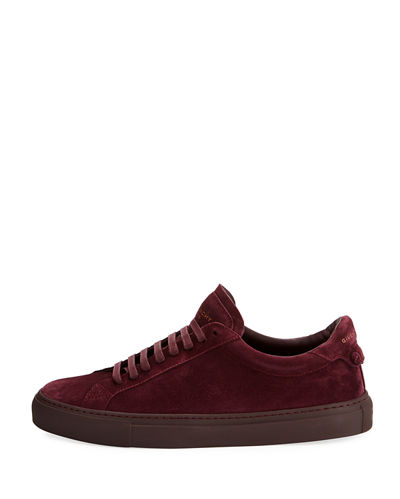 Men's Urban Knot Suede Low-Top Sneaker