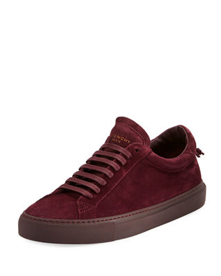 Suede Low Top Shoes