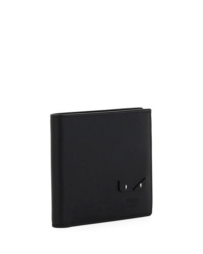 Micro Bugs Leather Bi-Fold Wallet