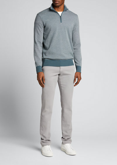 Roadster 1/4-Zip Cashmere Sweater