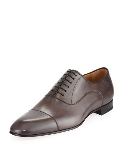 Greggo Patina Calf Leather Red Sole Oxford