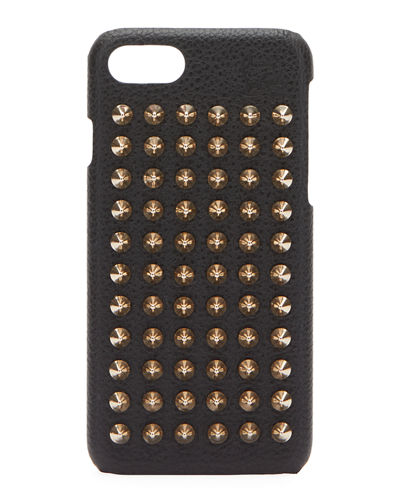 Christian Louboutin Loubiphone Studded iPhone 7 Case