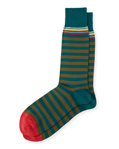 Top Two Striped Socks