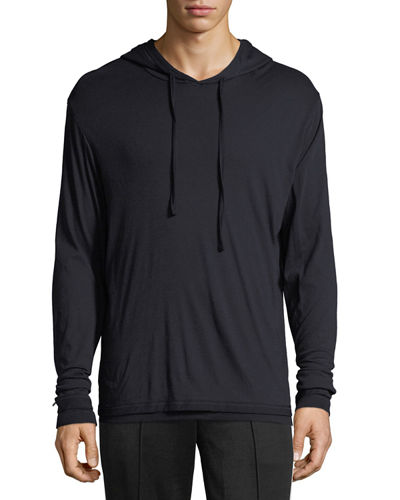 Double-Layer Pullover Hoodie, New Coastal