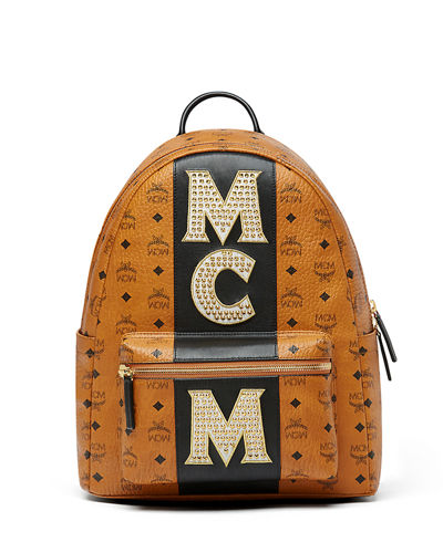Stark Men's Stripe Studs Backpack