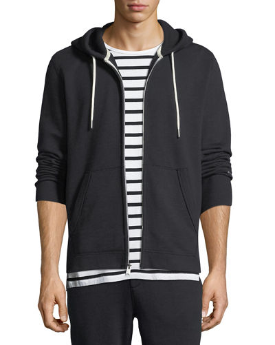 Rag & Bone Men's Standard Issue Zip-Front Hoodie
