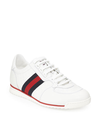 393cf93f101 Gucci Men s SL73 Lace-Up Sneakers