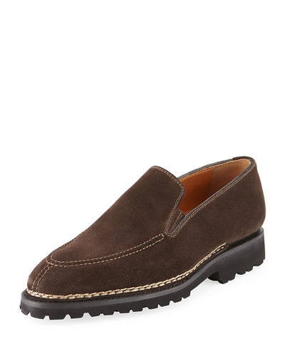 Men's Suede Slip-On Loafer