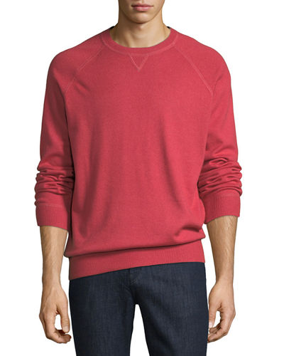 Athletic Crewneck Sweater