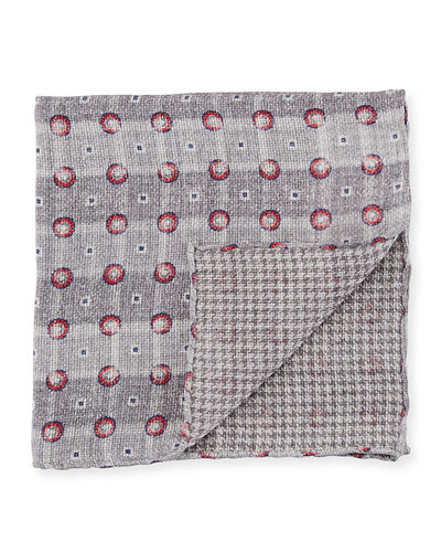The Rachel Reversible Pocket Square