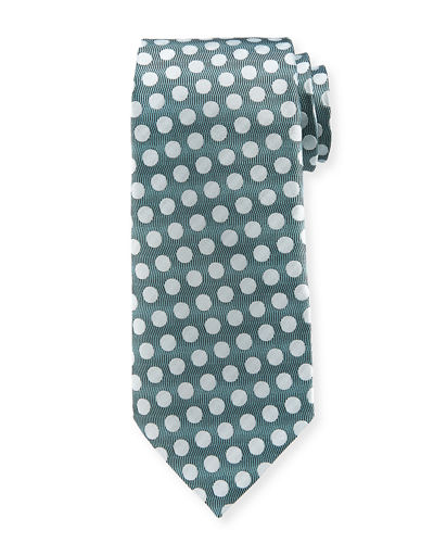TOM FORD Dot Silk Satin Tie