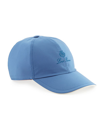 e7dc9db36f932 Wind Logo-Embroidered Baseball Hat