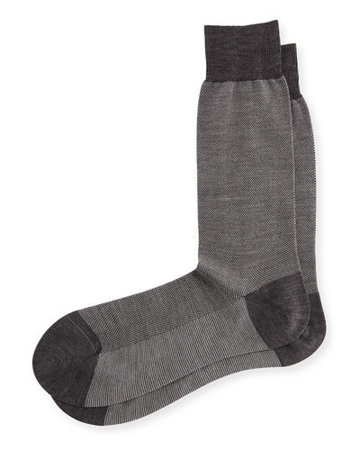 Beaumont Birdseye Socks