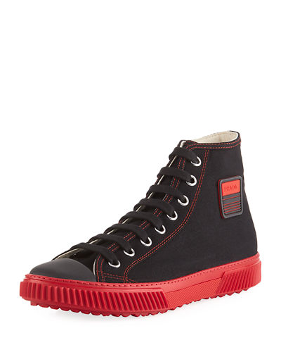 Canapa Canvas High-Top Sneaker