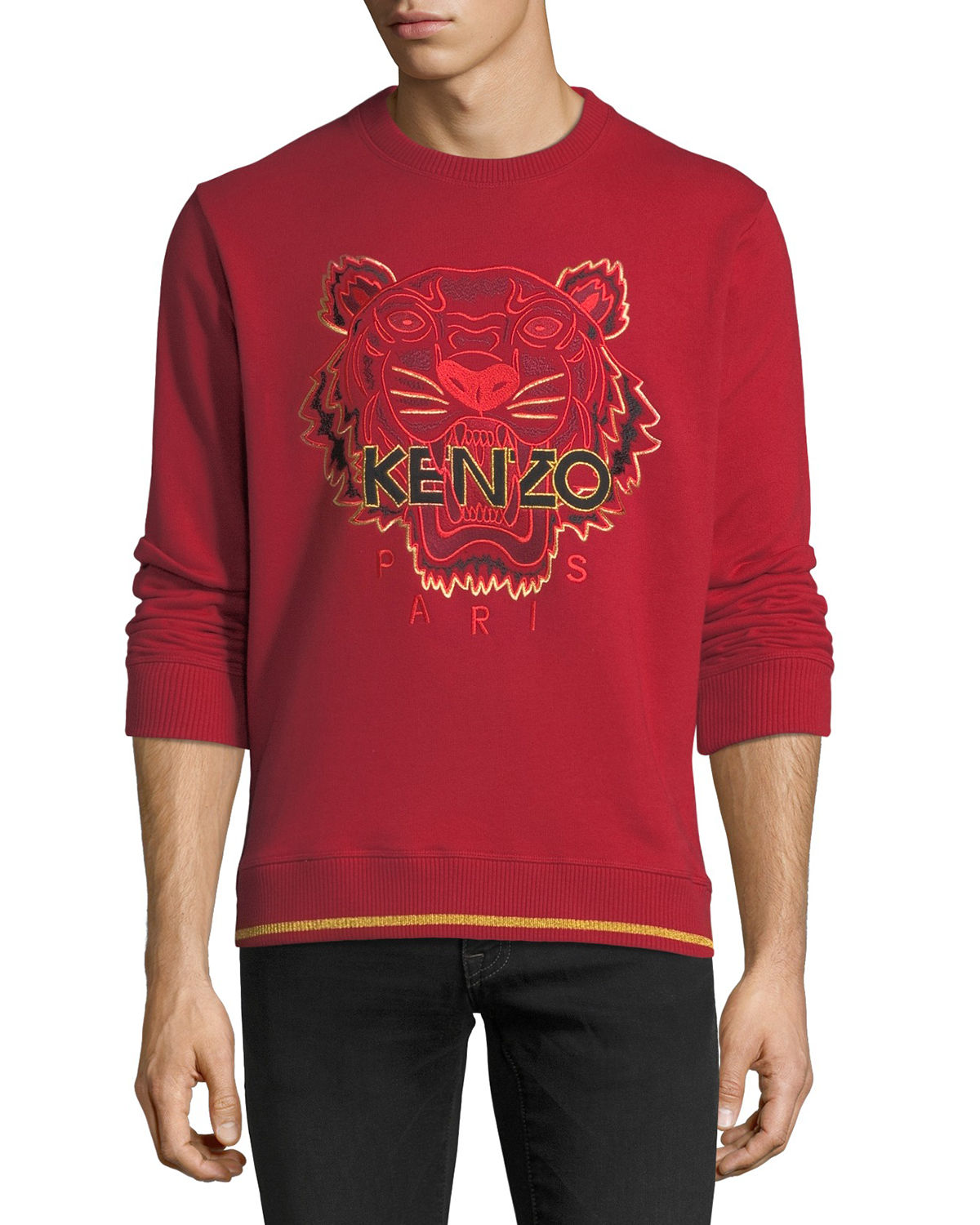 Logo Tiger Graphic Sweatshirt