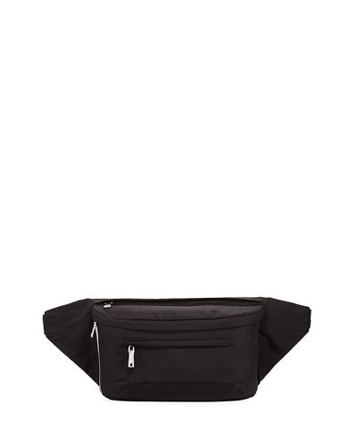 Solid Nylon Belt Bag
