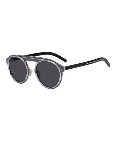 76f075d22c45a Dior Genes Round Double-Frame Sunglasses