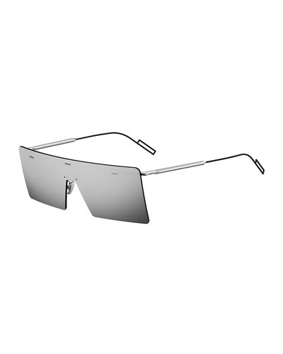 2fc5de0769135 Dior Men s Chroma 1 Rimless Mirrored Aviator Sunglasses