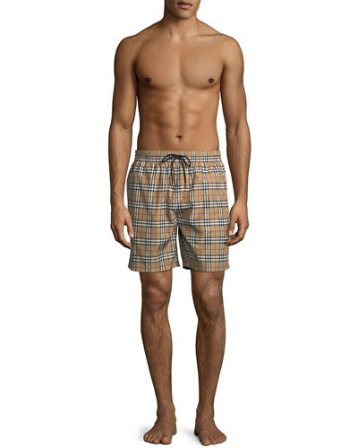 79ee61c22a Burberry Guildes Signature-Check Swim Trunks