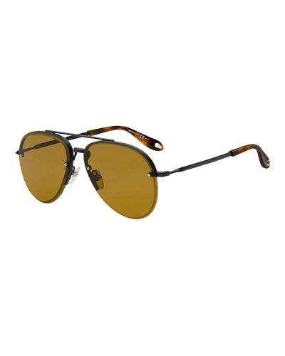 2419ff340 Men's Rimless Aviator Sunglasses Quick Look. Givenchy