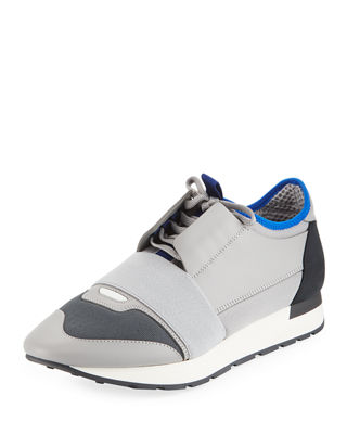Balenciaga Suede Lace-Up Sneakers