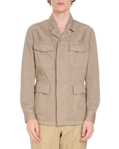 4-Pocket Safari Jacket