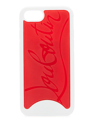f44c857a91ef Embossed Logo LoubiPhone Case for iPhone® 8 Quick Look. WHITE. Christian  Louboutin