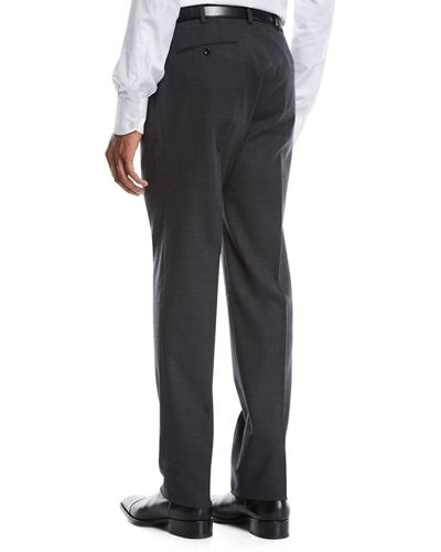 Men's Benson Wool-Stretch Dress Pants