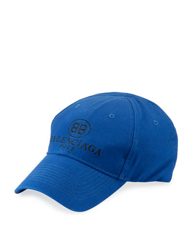 Men's Embroidered Logo Baseball Cap