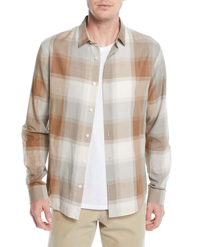 52893d5b1f5f Casual Button Down Shirts   Oxford   Check Shirts at Bergdorf Goodman