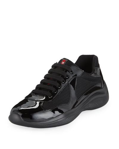Men's America's Cup Vernice Low-Top Bike Sneakers