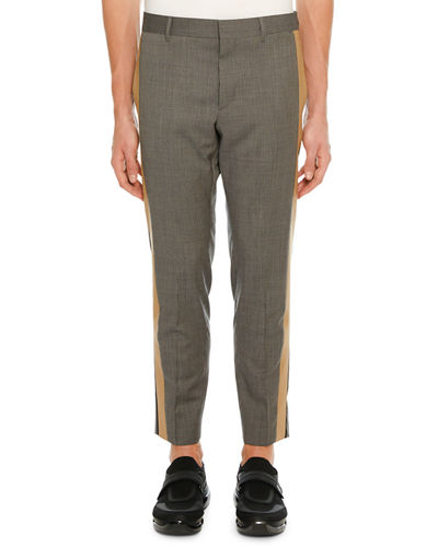 Men's Side-Stripe Ankle Pants