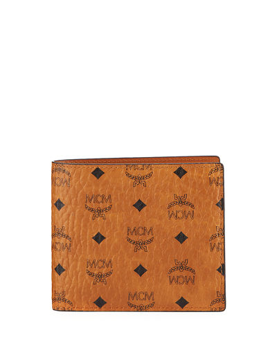 Men's Visetos Original Flap Bi-Fold Wallet