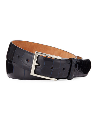 Men's American Alligator Belt